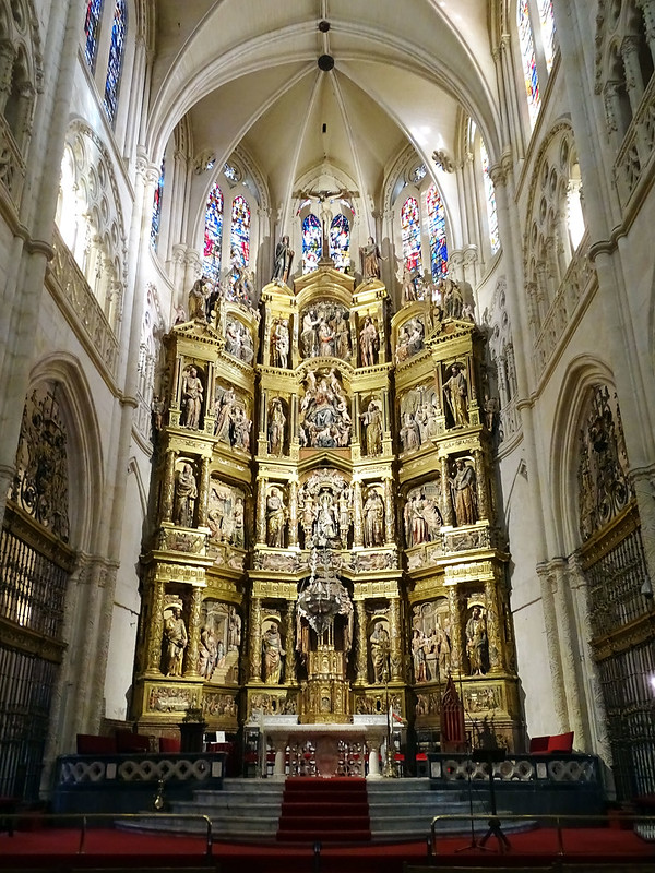 Catedral de Burgos Retablo mayor 02