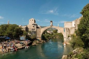 Na een weekje in Nederland was ik weer terug in Bosnië en Mostar.