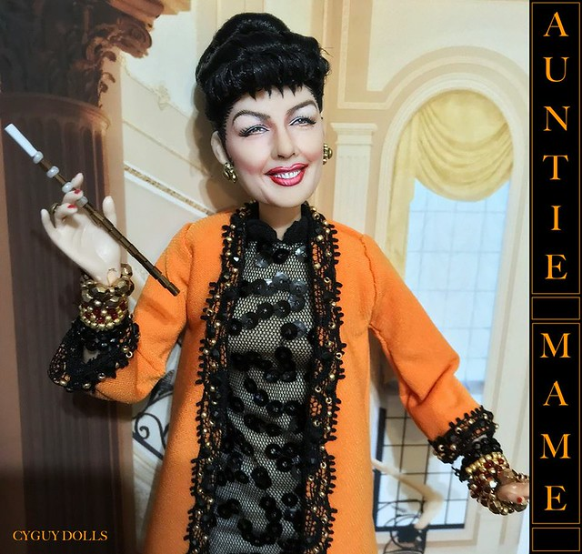 Rosalind Russell Auntie Mame doll