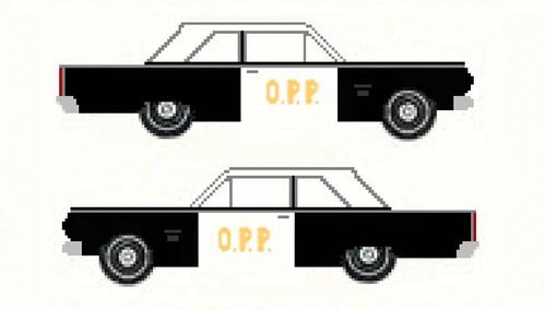 1965 Rambler Ambassador 880 2-door sedan, Ontario Provinci