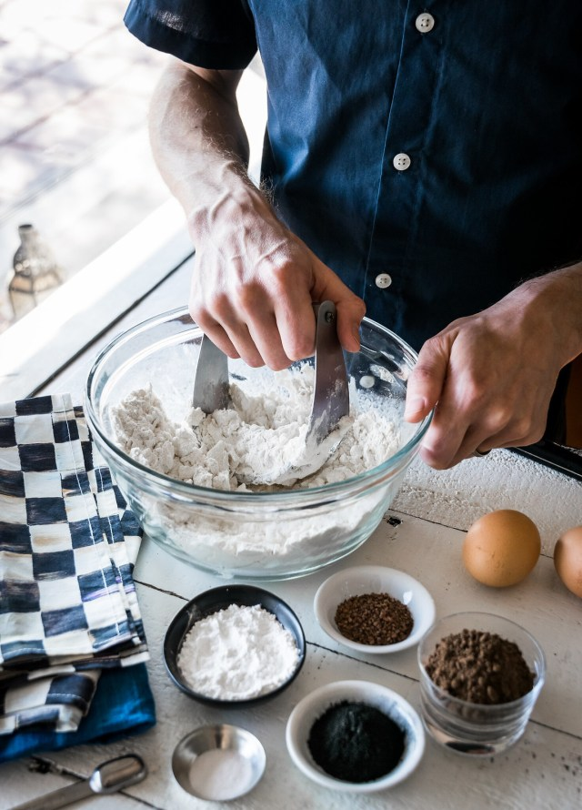 a pastry blender makes it easy