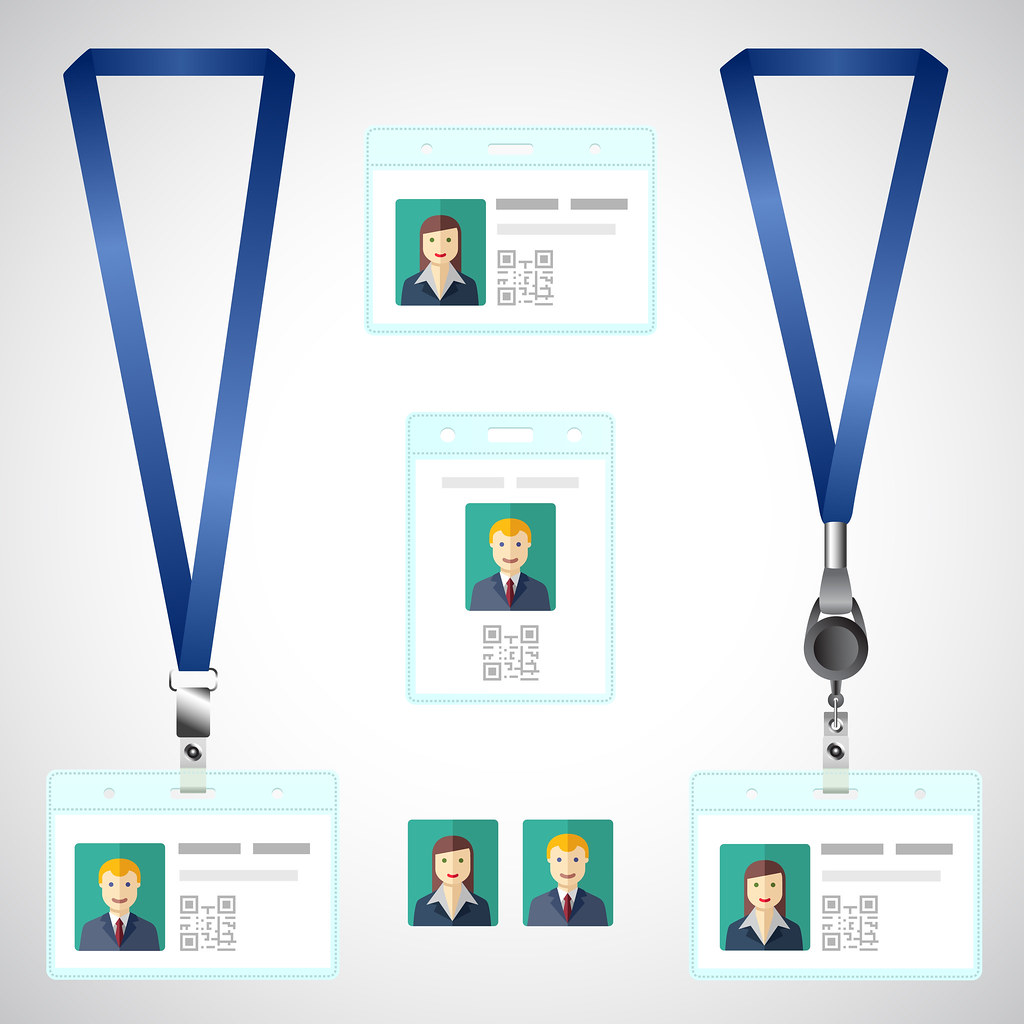 hight resolution of  name tag holder end badge id template by bolaos56