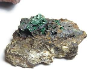 Mineral: Malaquita botroidal