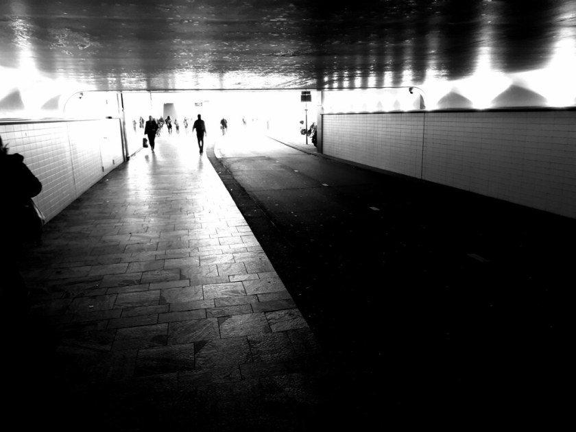 Rotterdam Daily Photo: Light at the end of the tunnel