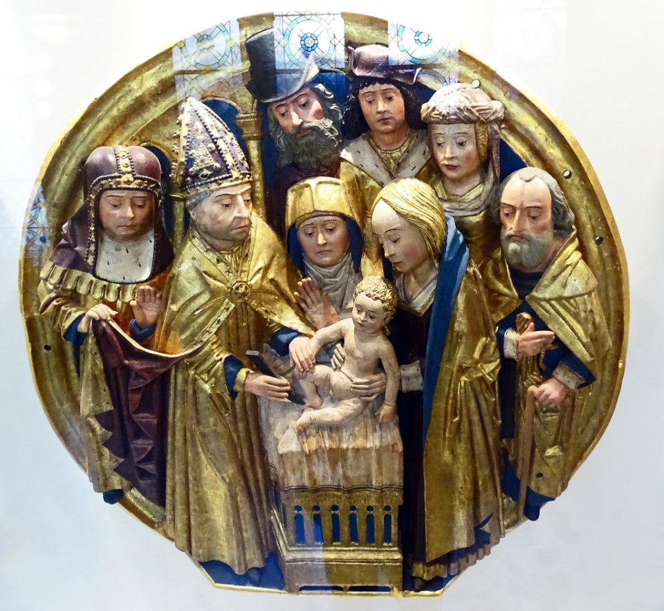 Museo Catedral de Burgos Relieve Circuncision de Jesus de Gil de Siloe