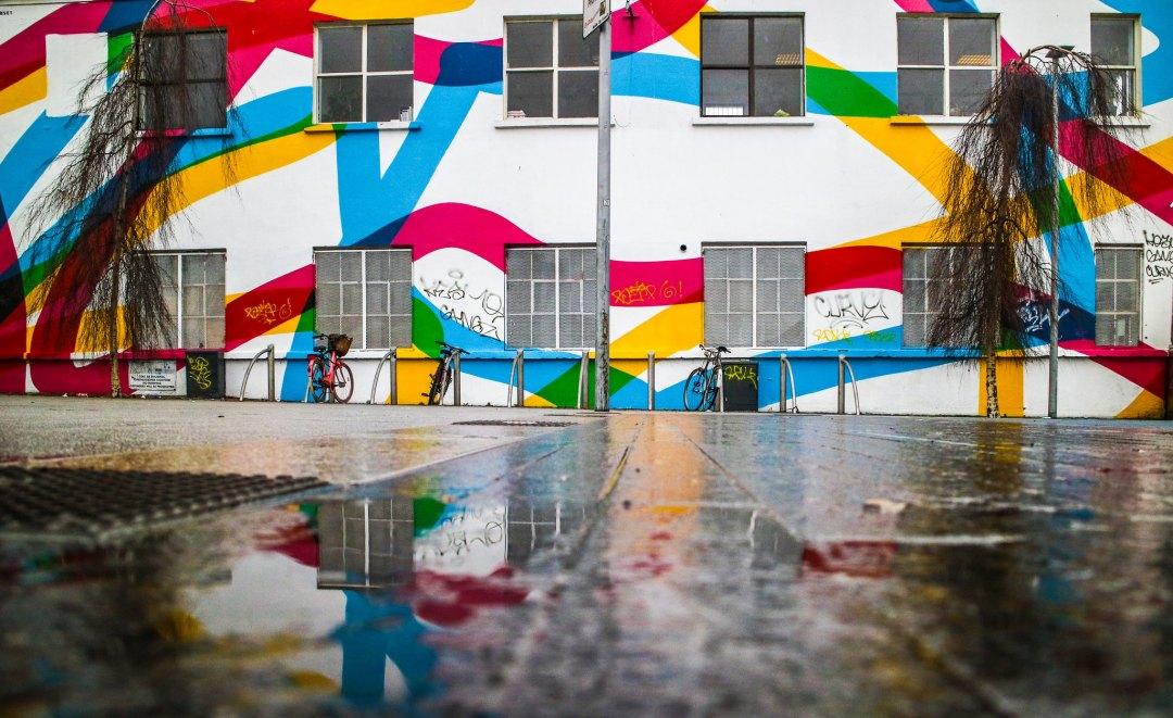 Street art a Dublino