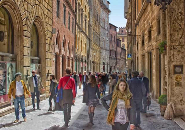 Via Bianchi di Sopra, Siena
