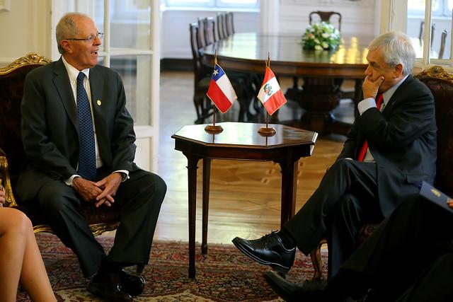 Jefe de Estado sostuvo audiencia privada con el electo presidente de Chile, Sebastián Piñera