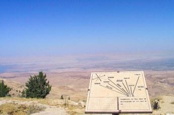 Vanaf dezelfde plek keek Moses voor het eerst uit over het beloofde land.