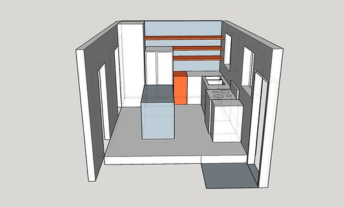 Kitchen layout_with the island