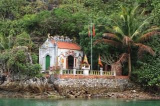 Fisherman's village Temple