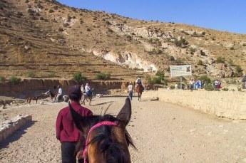 Een dag later gingen we te paard op weg naar het hoogtepunt van de reis.