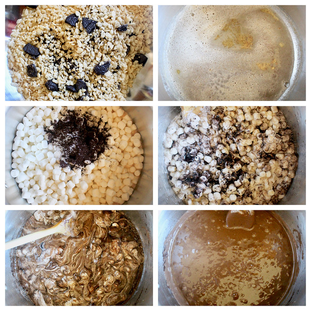 Salted Cookies & Cream Rice Crispy Treats - 25