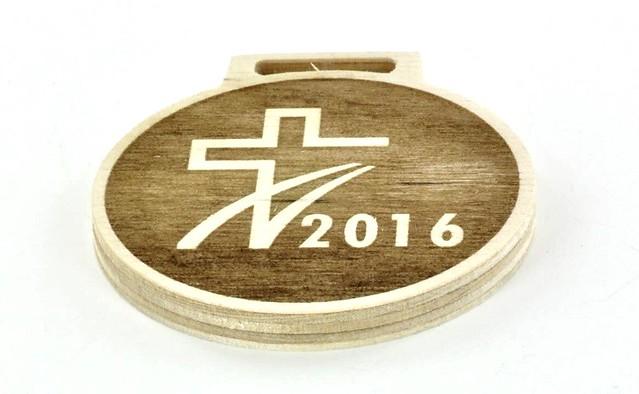 medal ze sklejki