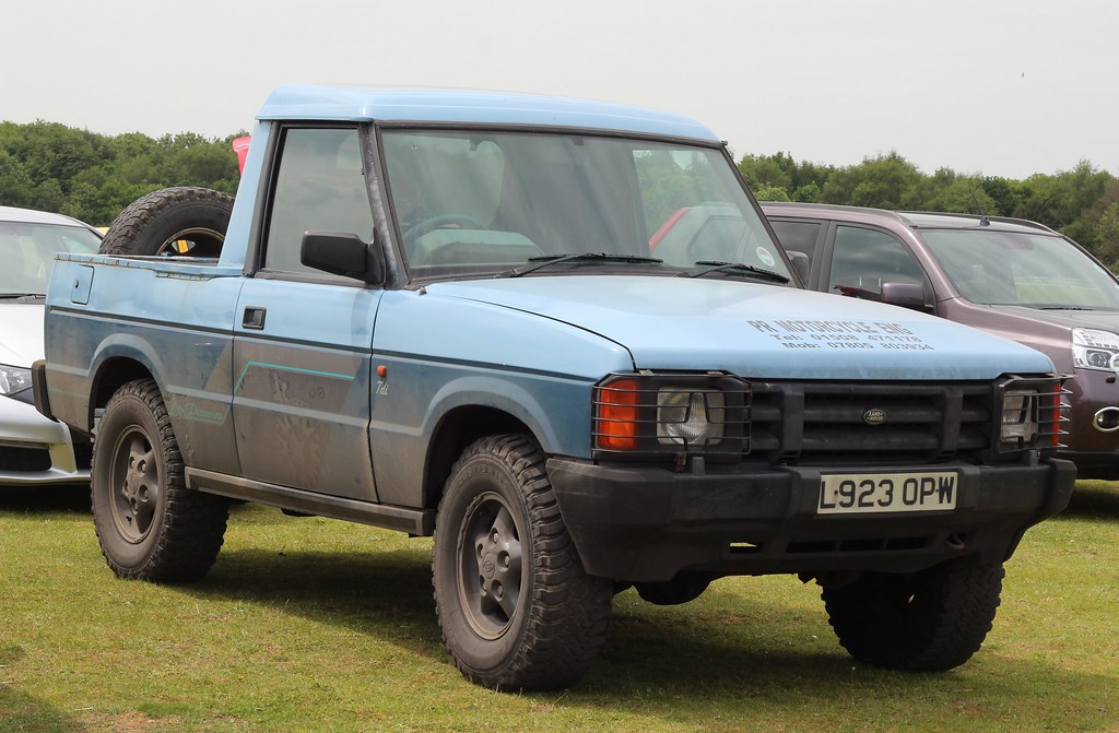 L923 OPW  1993 Land Rover Discovery Tdi 3door converted