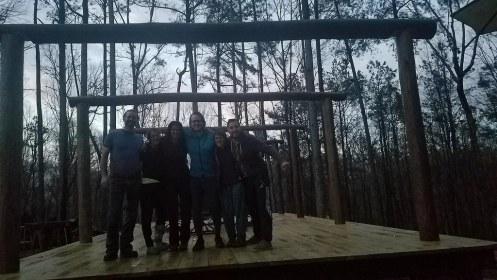 Dustin, Mandy, Camilla, Mischa, Rosanna and Jean