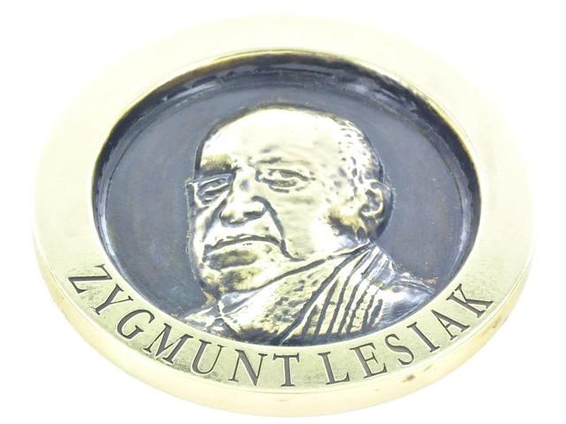 medal mosiężny, śr.70mm,