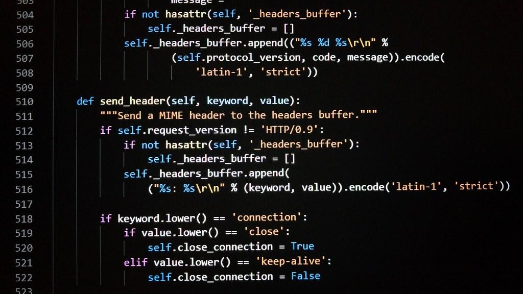 Python Source Code  Jonathan Cutrer  Flickr