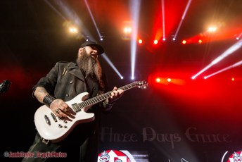 Three Days Grace + Nothing More + Bad Wolves @ Abbotsford Centre - December 14th 2018