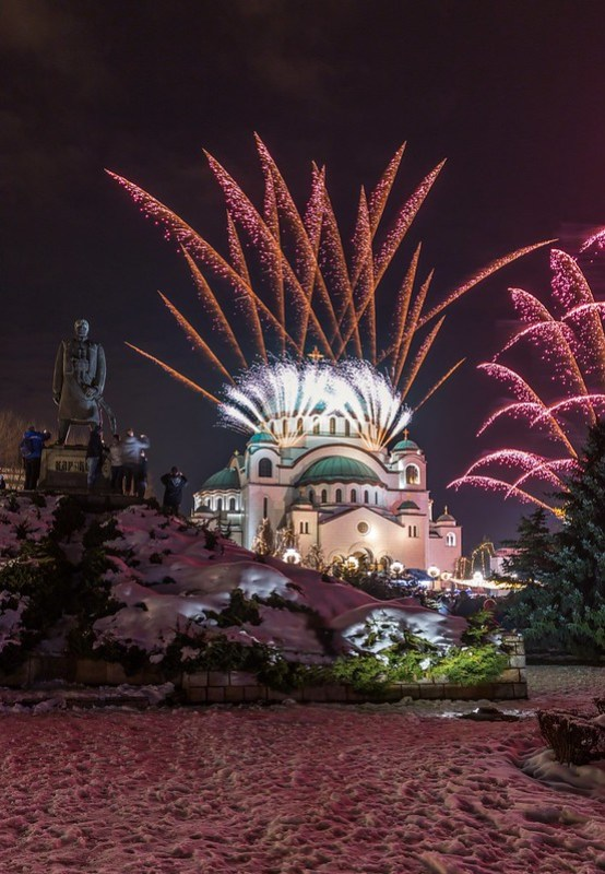 Orthodox New year 2019.