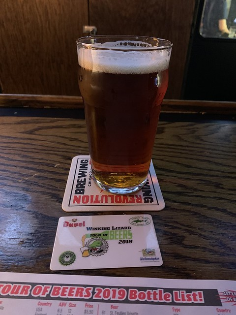 2019 Winking Lizard World Tour of Beers #16: Sierra Nevada Resilience IPA - This IPA will punch you in the taste buds with its bitterness.