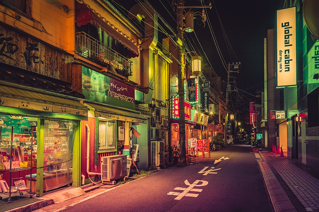 3d World Map Wallpaper For Pc Deserted Japan Street Instagram Facebook 500px