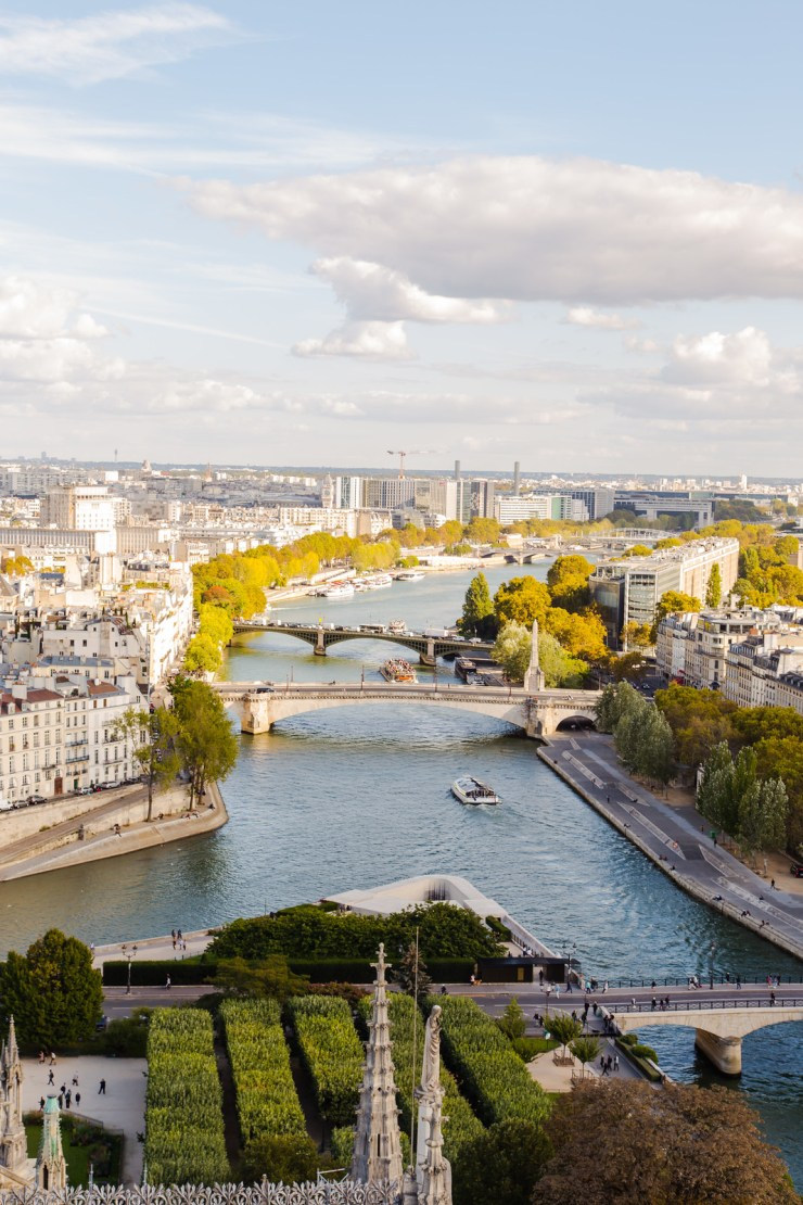 The Seine from Notre-Dame