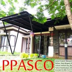 Jenis Produk Baja Ringan Kanopi Minimalis Bajaringan Atap Onduline Di Sentul City Bogor A