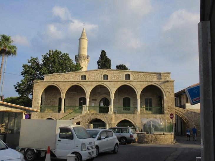 Poritico and minaret, Djami Kebir Mosque, Larnaca, Cyprus | Flickr