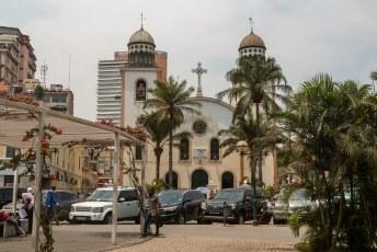 De 'Nossa Senhora dos Remédios' kerk, een andere naam voor de maagd Maria kerk.