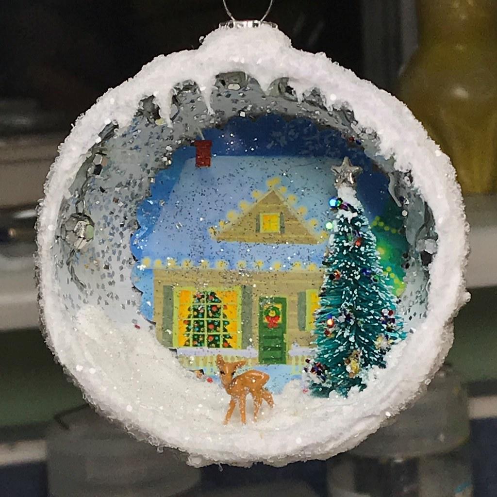 Diorama Christmas Ornaments