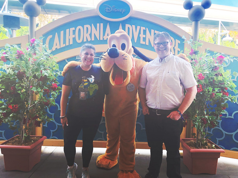 Photo op with Pluto