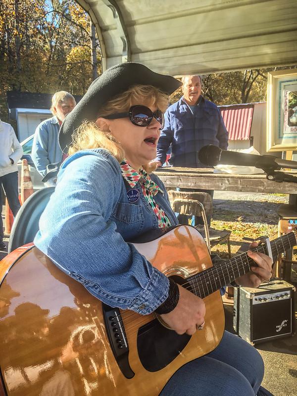 Musicians Circle at Pickens Flea Market