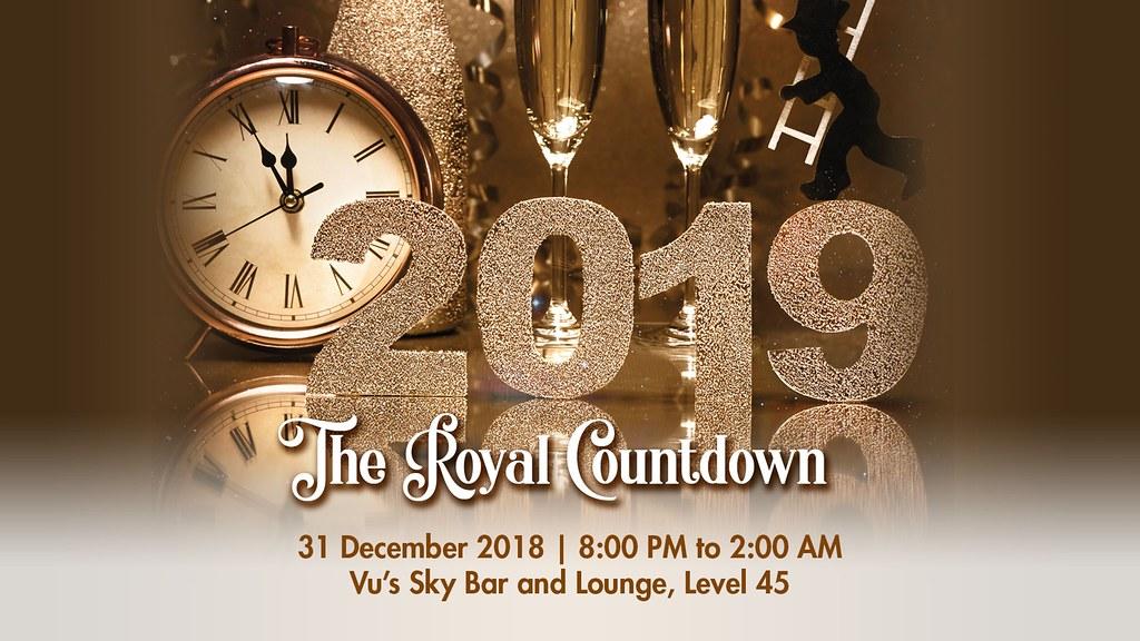 The Royal Toast at Vu's Sky Bar and Lounge