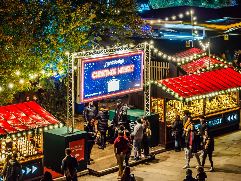 Southbank Christmast Market