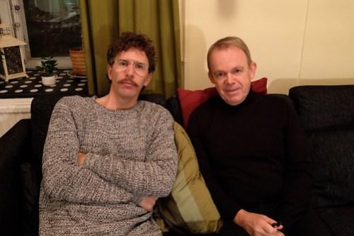 Pontus Plænge och Gustaf Appelberg