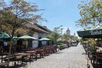 Volgende halte Granada, calle Calzada.