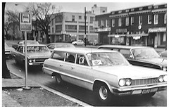 Alternate transportation during D.C. bus boycott: 1968