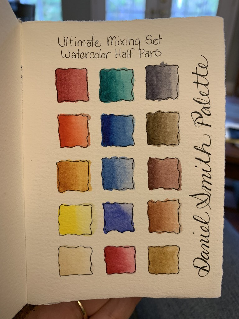 Daniel Smith Watercolor Palette : daniel, smith, watercolor, palette, Daniel, Smith, Watercolor, Tiffany, Flickr