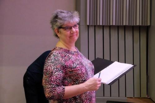Eva Elvin, ordförande