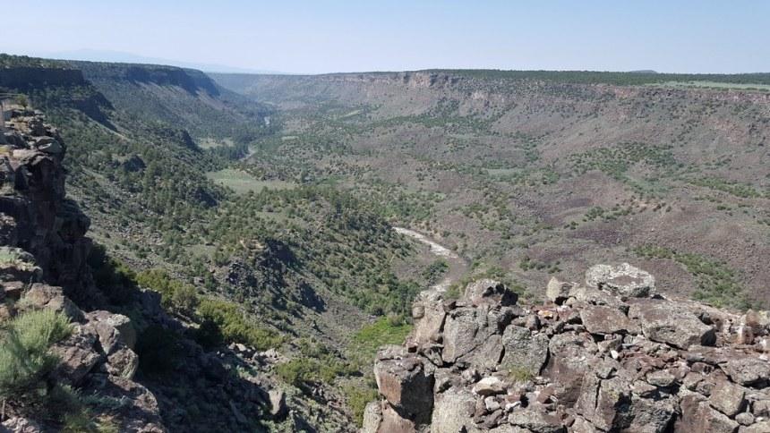 Rio Grande Gorge in Wild Rivers Recreation Area