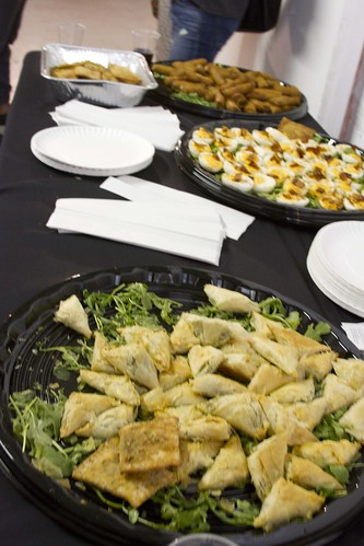 Thank you to Centraal, Beja Flor and Coffeed for delicious catered food!