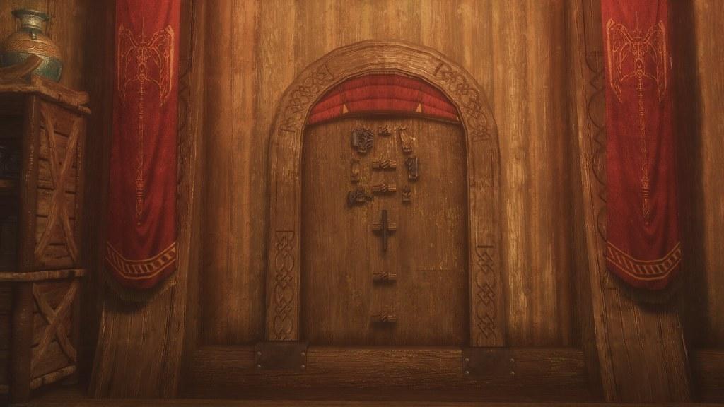 Jorrvaskr' Display for  Wuuthrad