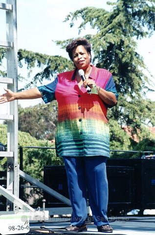 Main Stage at San Diego LGBTQ Pride Parade, 1998