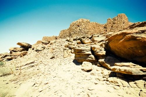 Nubian ruins