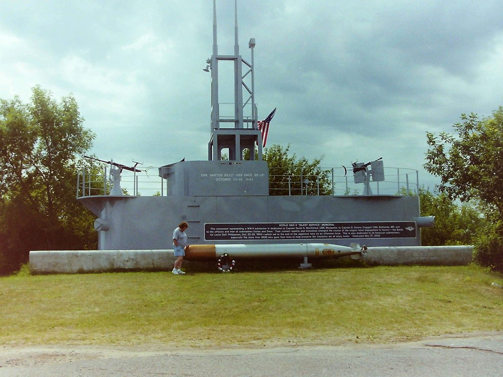 uss darter sub & torpedo | coleen looks at the world war ii