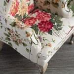1 4 Scale Doll Wingback Chair With Floral Upholstery Flickr