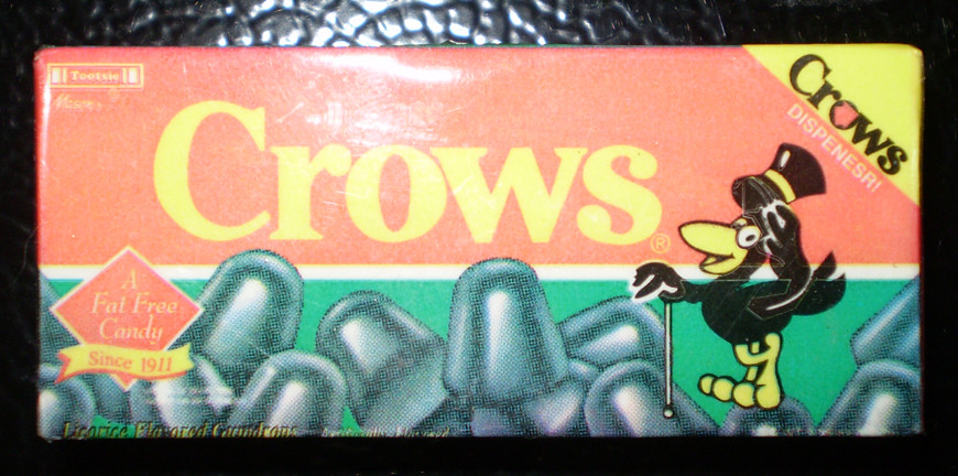 1999 crows candy magnet