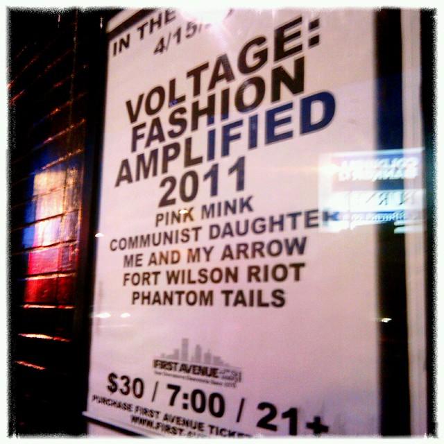 Rock on #Voltage2011!