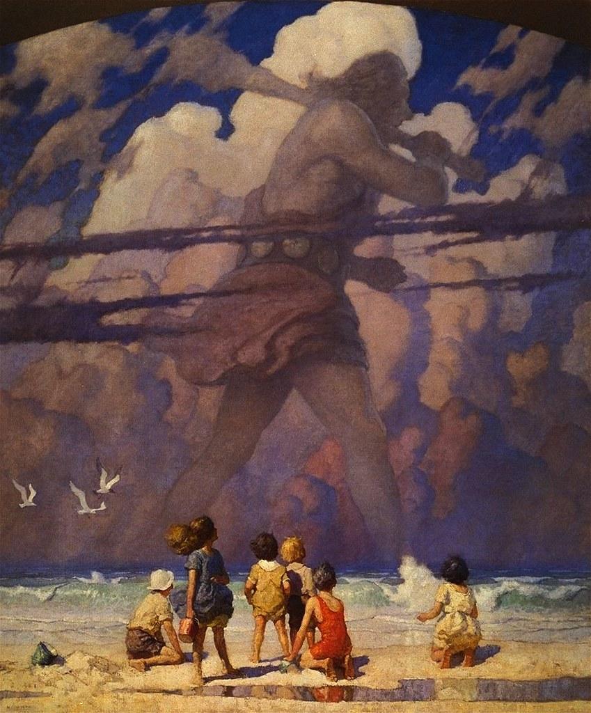 N. C. Wyeth : wyeth, GIANT, Wyeth, Children, (from, Left), Flickr